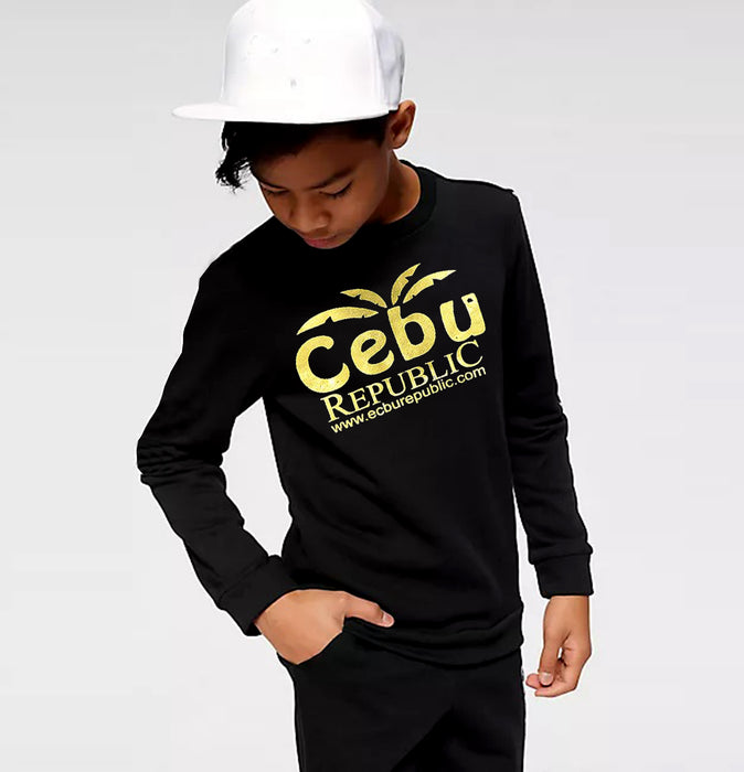 Kids CEBU Foil Graphic Sweat shirt (TP-10235)