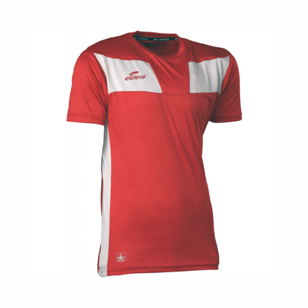 ELDRA Red Moisture Wicking Sports T-Shirt (EL-2262)