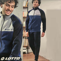 Blue Ltto Super Soft Signature print Jogging Suite (LO-10012)