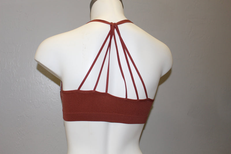 Strappy Racer Back Bra