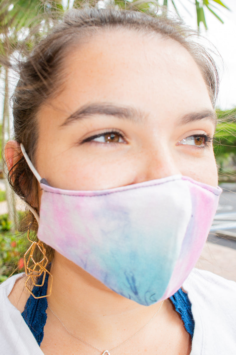 Cotton Jersey Mask Tie Dye