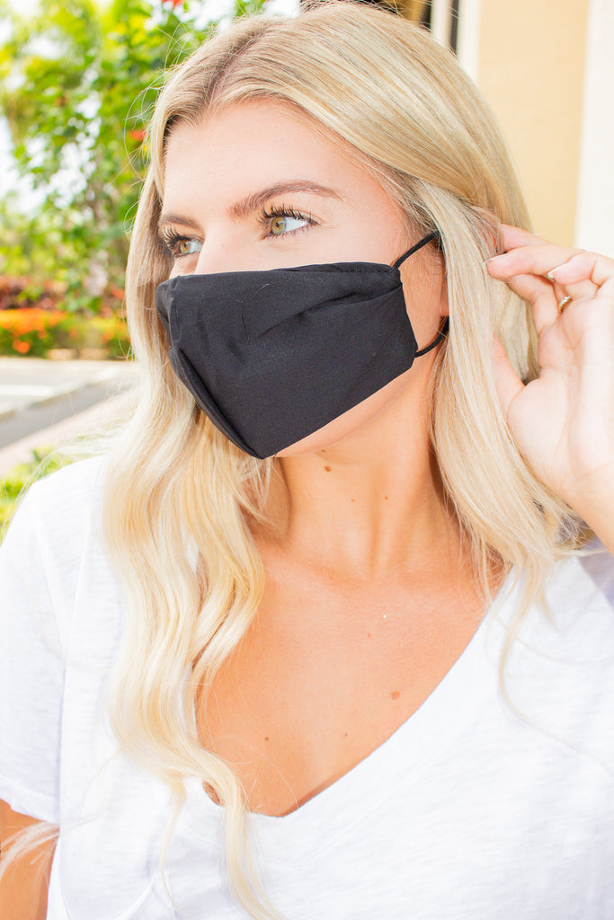 Cotton Mask Black