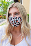 Cotton Mask Leopard