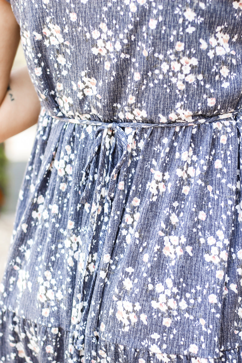 Be The Reason Sleeveless Floral Dress