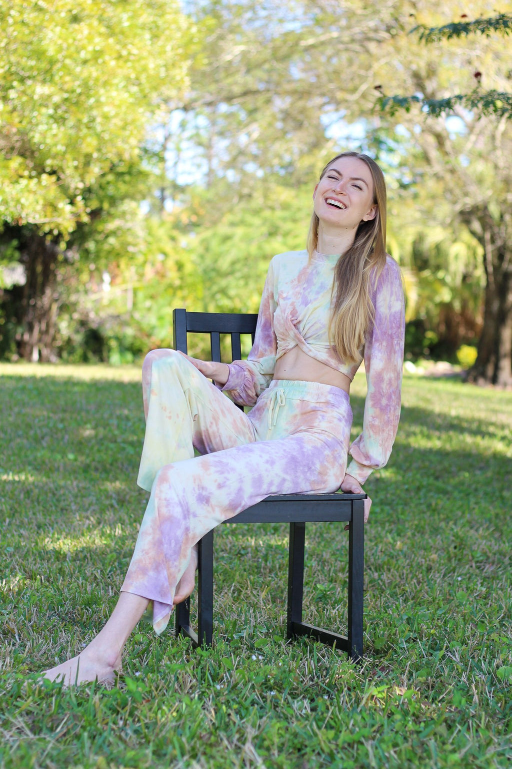 Always Shining Knit Lounge Pants - Hollie's Boutique