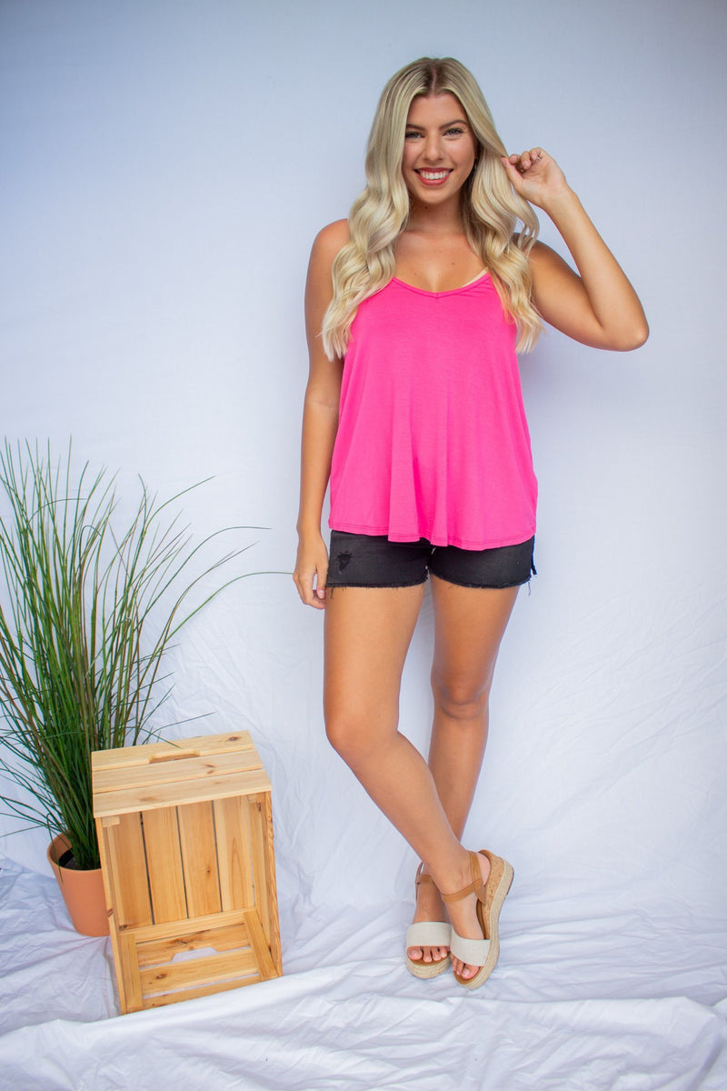 Bamboo Cami Top - Hollie's Boutique