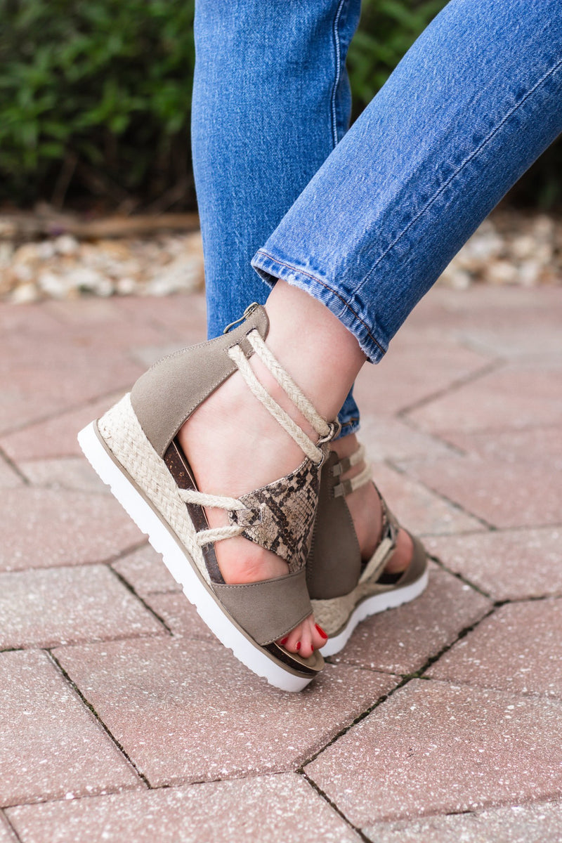 Corky's Browning Sandal - Hollie's Boutique