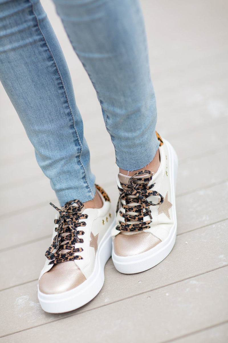 Elepsis Leopard Sneaker - Hollie's Boutique