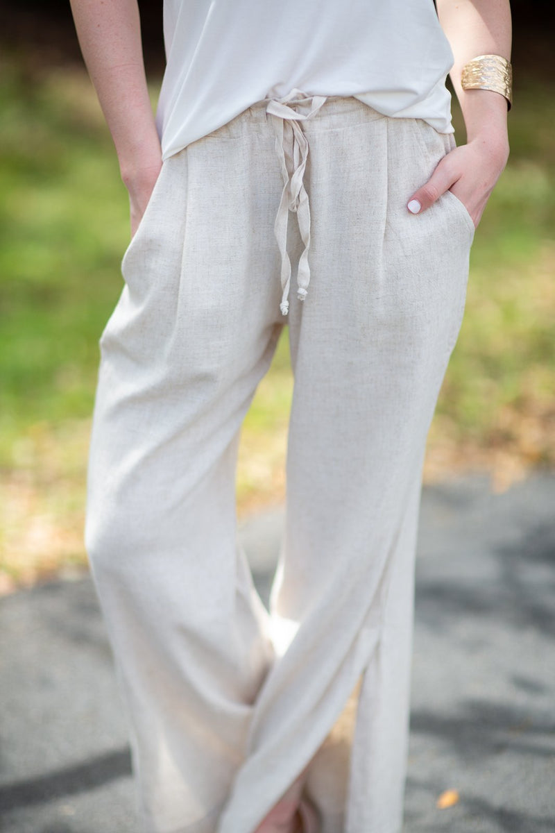 Love You Differently Side Split Pants - Hollie's Boutique