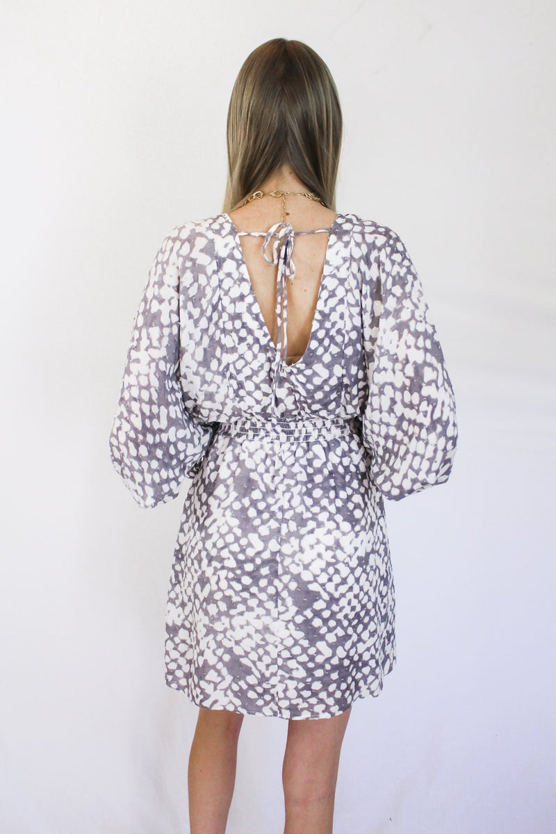 Love You More Printed Dress - Hollie's Boutique