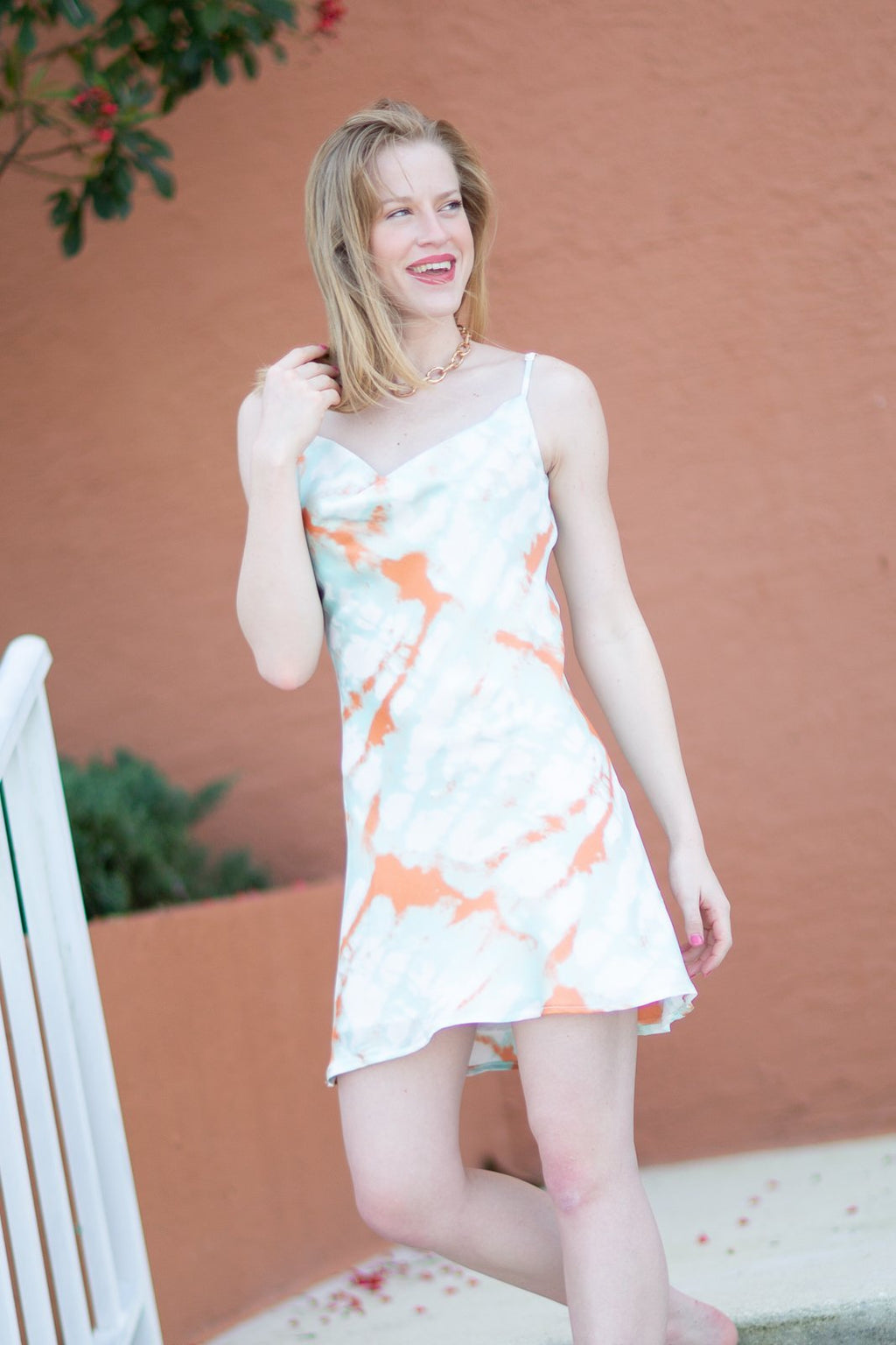 Never Have To Try Cowl Neck Dress - Hollie's Boutique