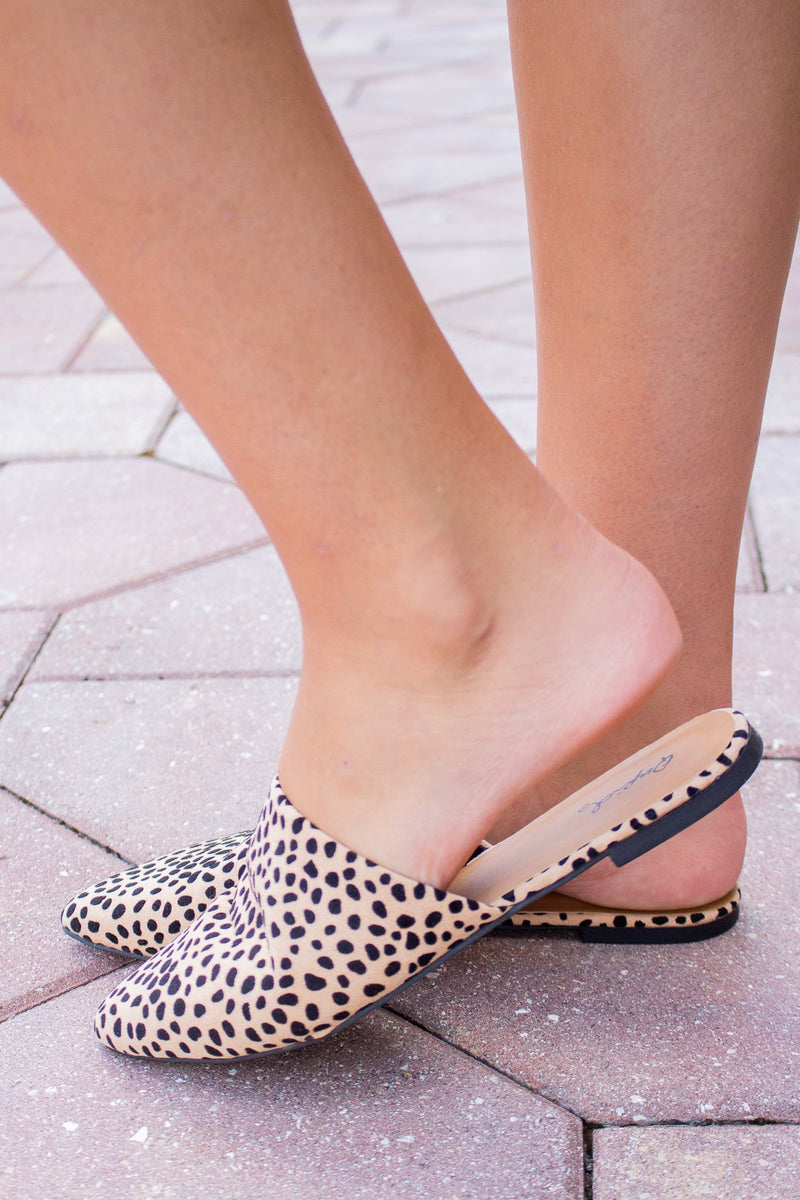 Tan Leopard Slip On - Hollie's Boutique