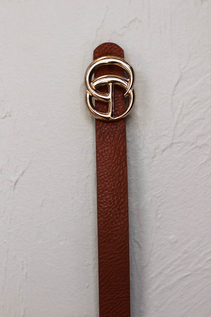 Thin Initail Belt - Hollie's Boutique