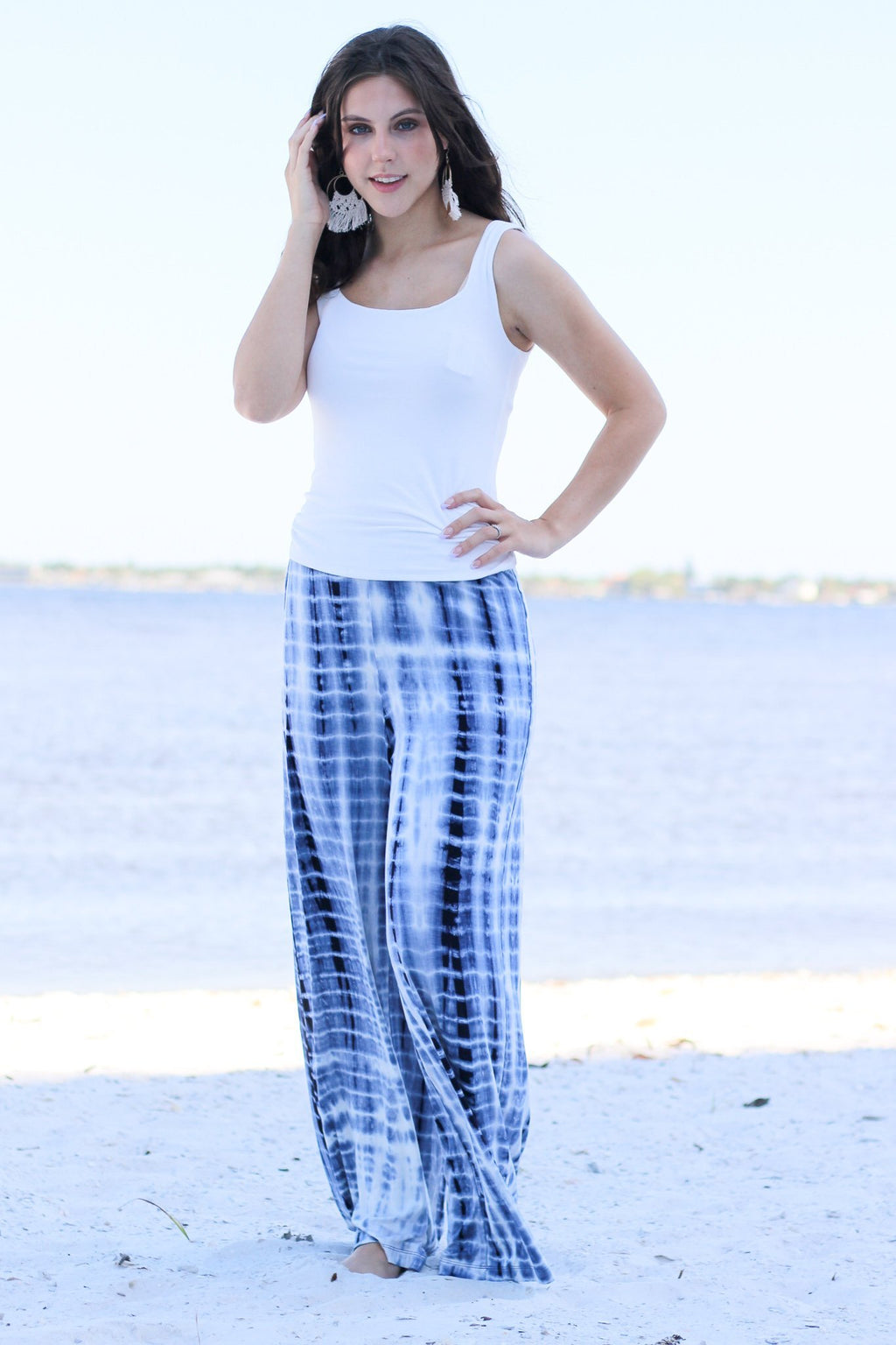 Truth Be Told Tie Dye Pants - Hollie's Boutique