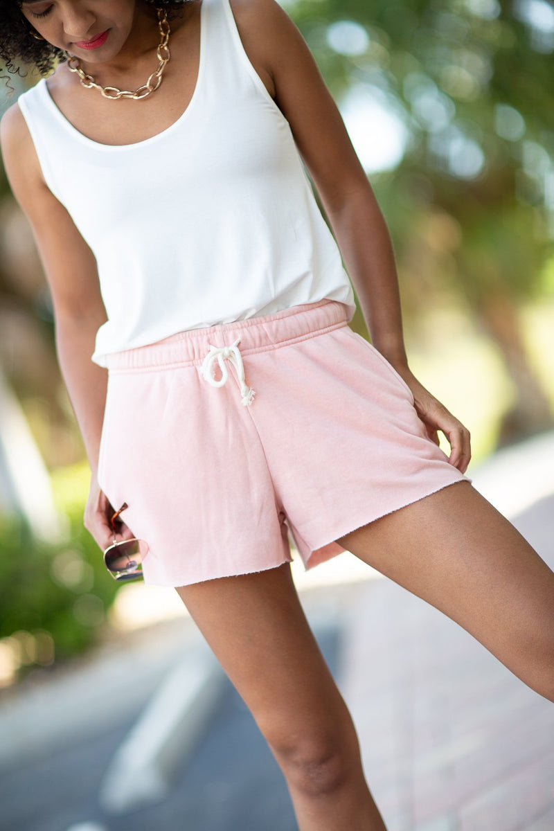 Wake Up Next To You Lounge Shorts - Hollie's Boutique
