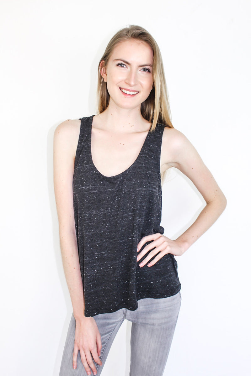 Z Supply Sloane Racer Back Speckle Tank - Hollie's Boutique