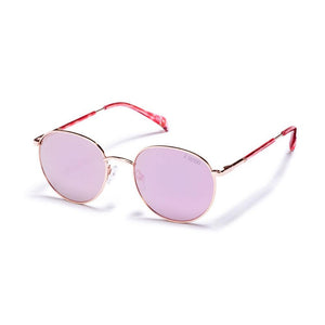 Pink & Pink Tortoise with Gradient Soft Pink Mirror
