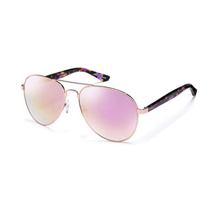 Purple Tortoise with Soft Purple Mirror Lens