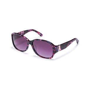 Purple Marble with Polarized Gradient Purple Smoke Lens