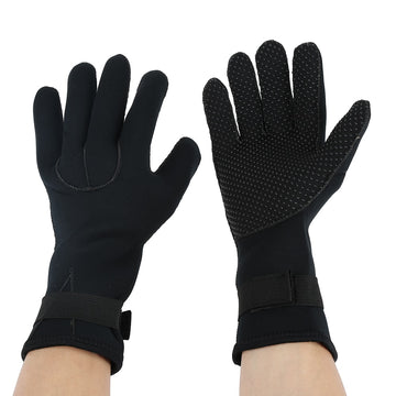 3MM Neoprene Swimming Diving Scuba Snorkeling Surfing Spearfishing Water Sport Gloves Winter Swimming Warm Mittens