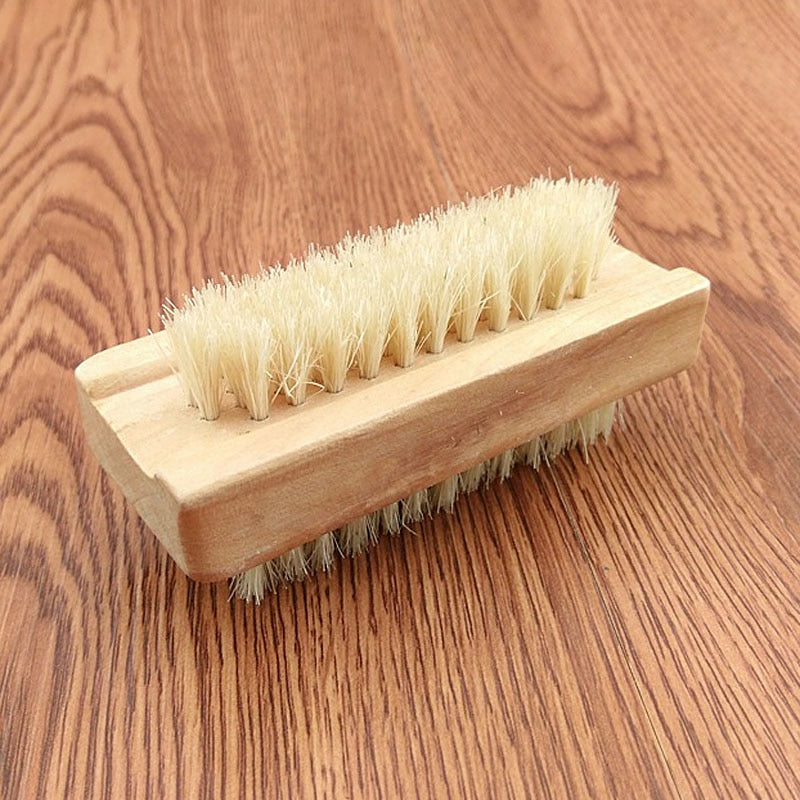 Wooden Double Sided Manicure Pedicure Bath Brush