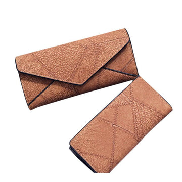 long wallets with clip bags