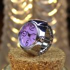 Ring Watch Lovers Watch for Rings Finger Clock Dial Quartz Analog
