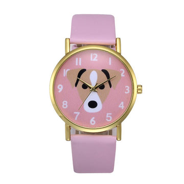 Pig Pattern watch Faux Leather Band Watches