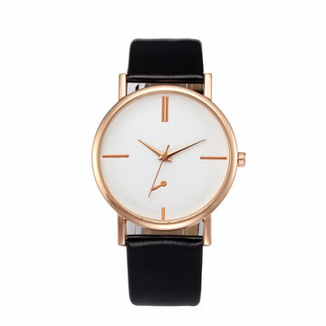 Leather Fashion Bracelet Watch Fashion Simple Quartz Wristwatch