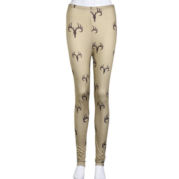 Fashion Skinny Printed Stretchy Leggings
