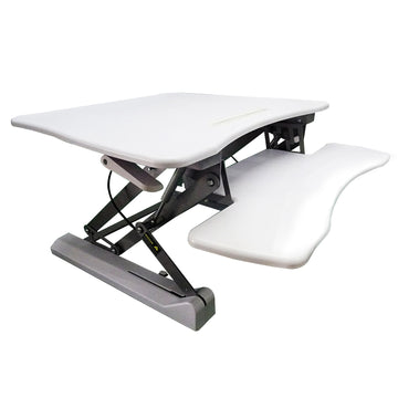 Adjustable Height Stand Up Desk TV Stand Computer Office Laptop Workstation