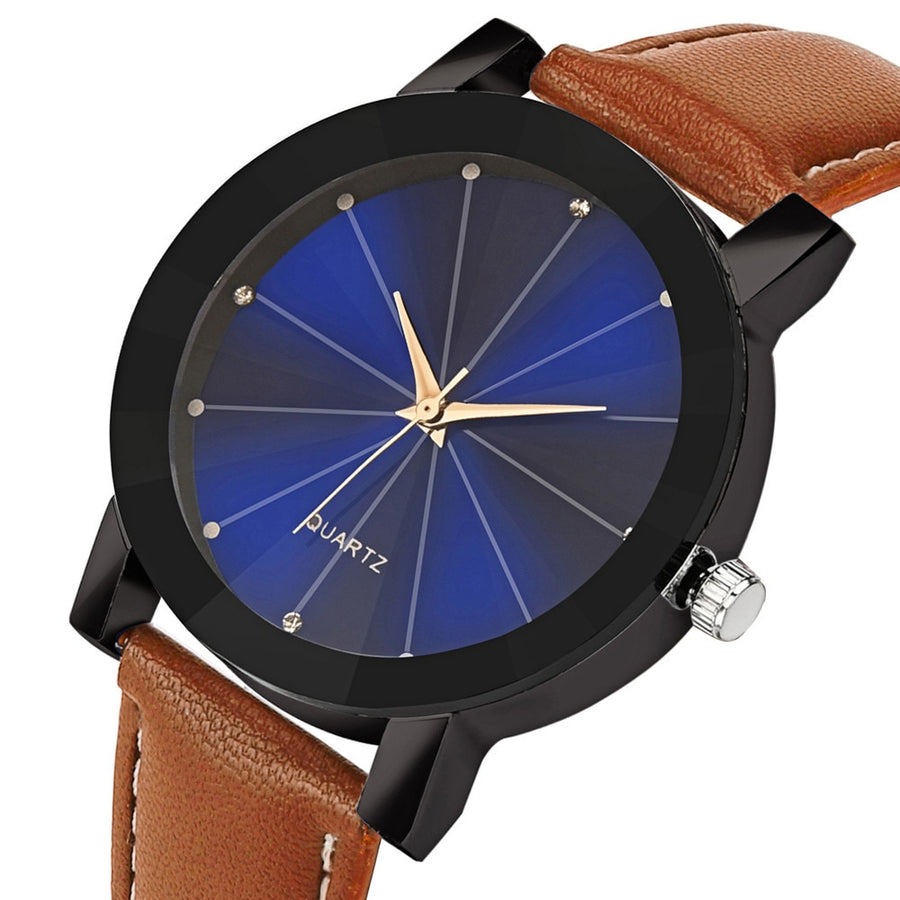 Unisex Watch Thread Band Quartz