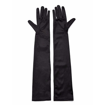 high elastic long glove