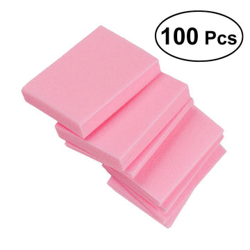 100 Pcs Disposable Lint Free Nail Polish Remover