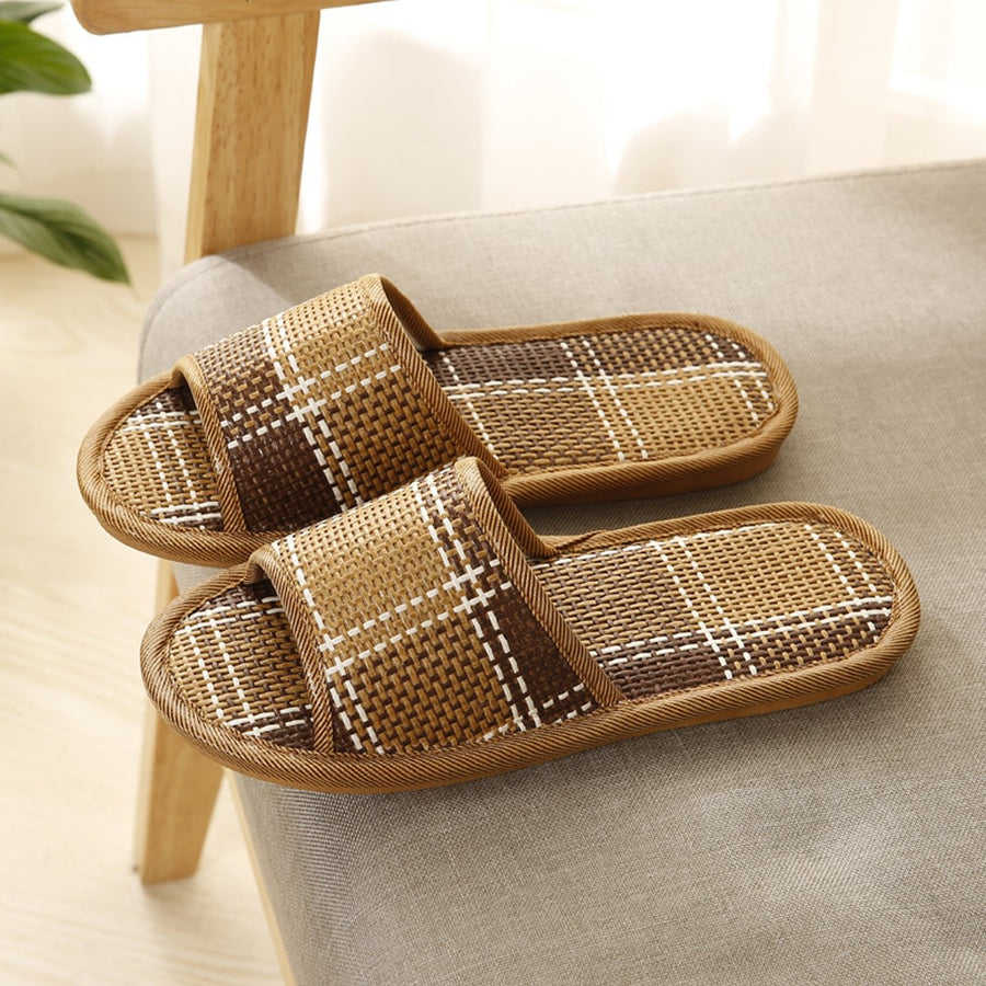 Unisex Cane Household Shoes Slippers Platform Flops Casual Sandals