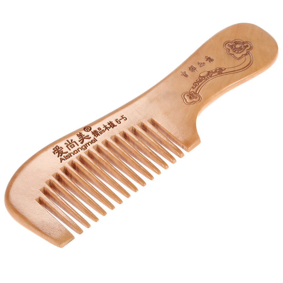 Wooden Hair Comb Anti-static Hairbrush