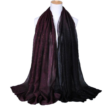 Voile Scarf Soft Gradient Style Wrap