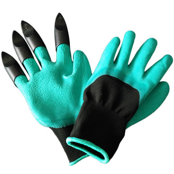 Garden Gloves Fingertips Claws Planting Gloves Easy to Dig and Plant Gloves