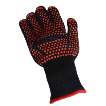 1PC Heat Insulation Heat-resistant Gloves 500 Degrees BBQ Anti-heat Oven Microwave Oven Baking Gloves