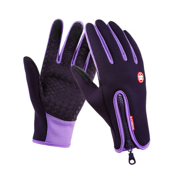 1 Pair Outdoor Winter Warm Waterproof Magic Gloves