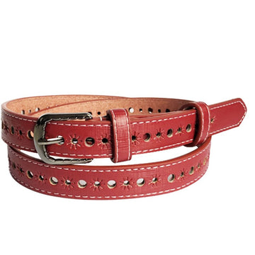 LGBTQ Hollow Belt With Alloy Buckle