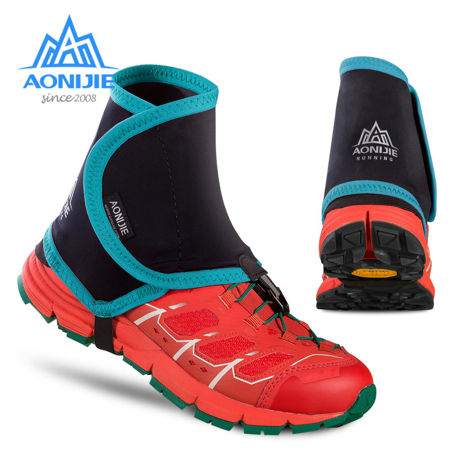AONIJIE E940 Outdoor Unisex High Trail Reflective Gaiters Protective Shoe