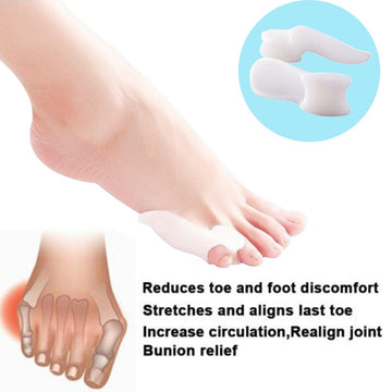 Feet Braces Supports Pedicure Orthopedic Braces To Correct Daily Sliicone Toe Small Bone Foot Care Hallux Valgus