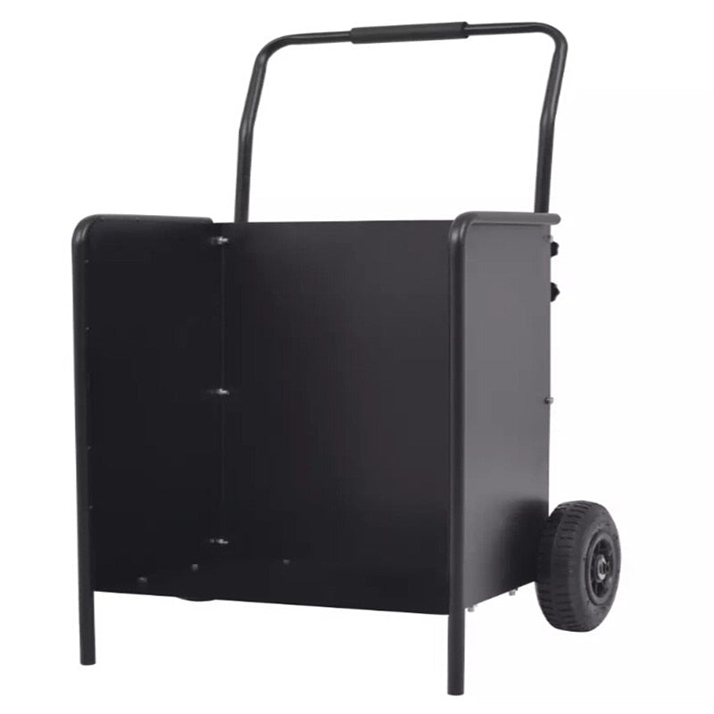 VidaXL Firewood Cart With Pneumatic Tyres 46x35x100 Cm High Quality Rust Resistant Trolleys