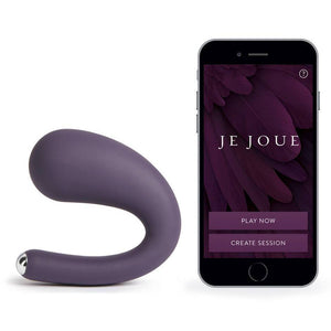 darcydares Je Joue Je Joue Dua App Controlled Rechargeable G-Spot and Clitoral Vibrator