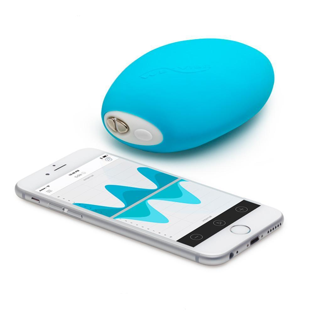 DarcyDares NEW WEVIBE COLLECTION We-Vibe Wish Blue Rechargeable Clitoral Vibrator