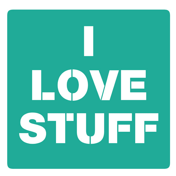 I Love Stuff Logo
