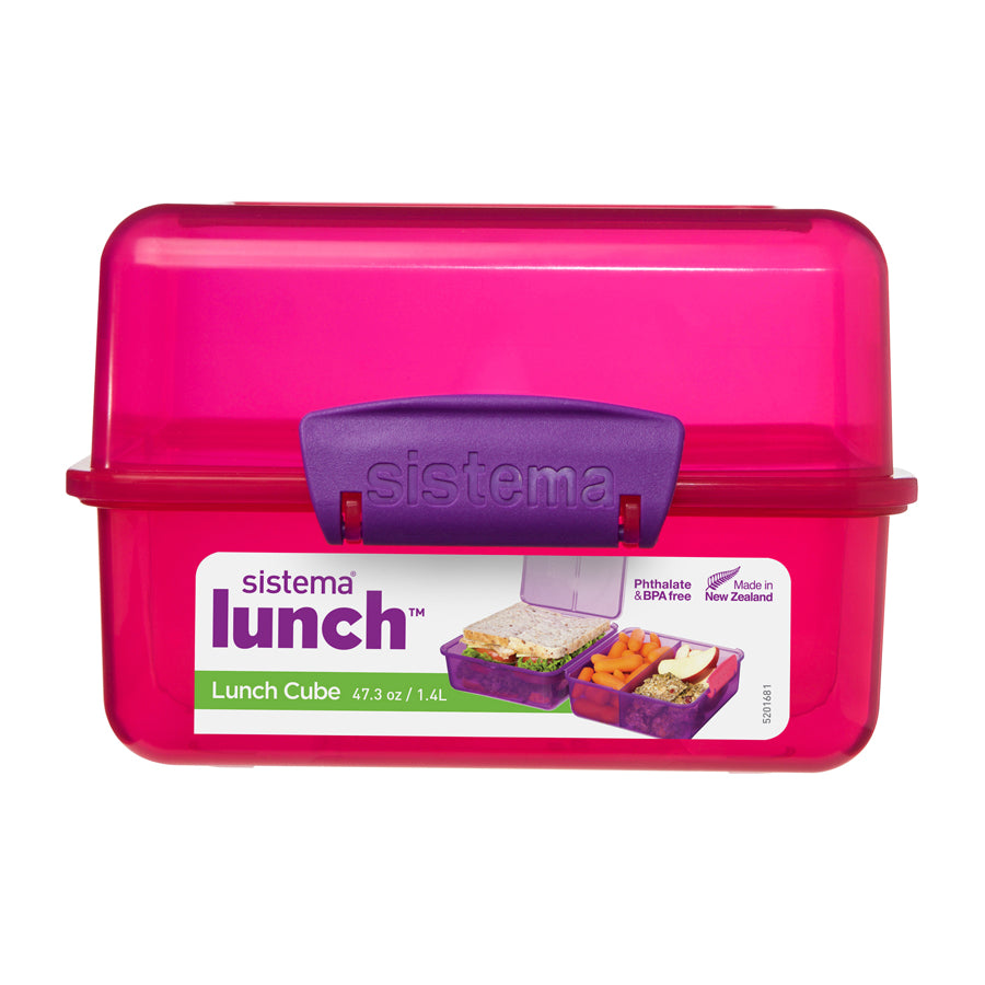 1.4L Lunch Cube Coloured