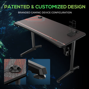 Eureka EUR-I47 Polygon Leg Gaming Desk South Africa