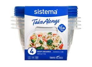 Sistema TakeAlongs Square 4 Pack  (1.2ml) South Africa